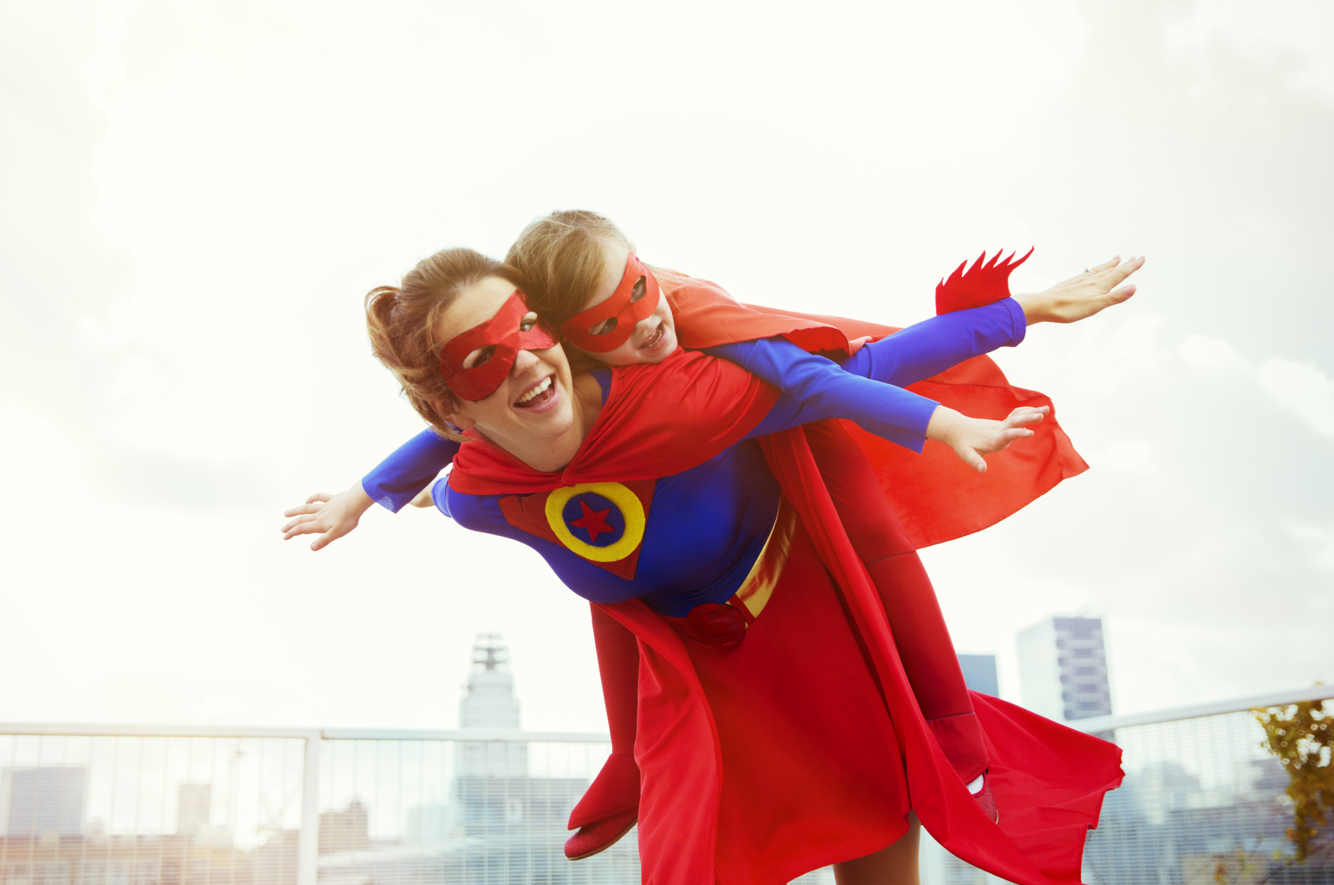 Mother Son Super Hero Dance