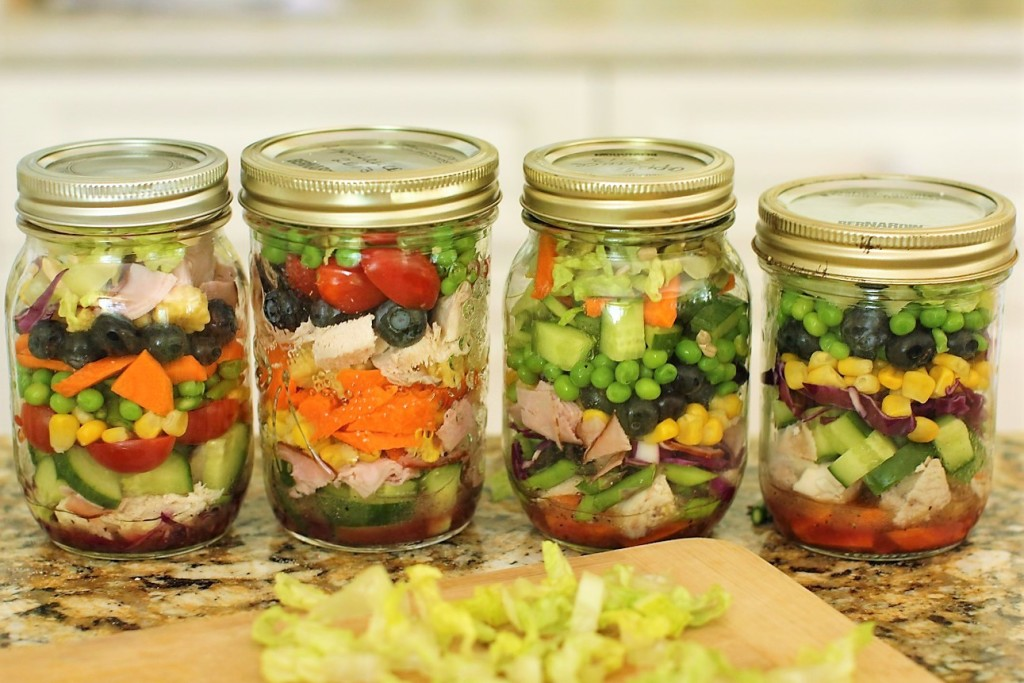 Learn to cook with mason jars